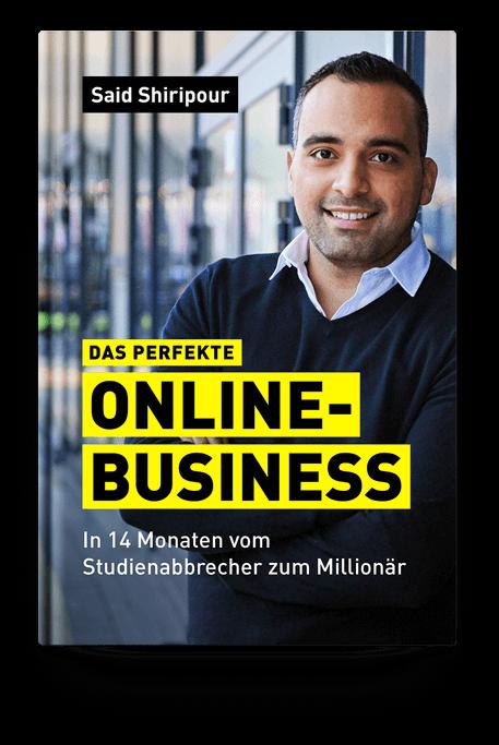 Kostenloses Buch - Das Perfekte Online Business von Said Shiripour
