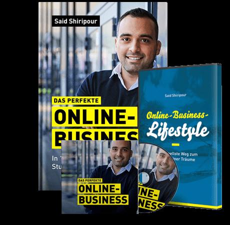 affiliate marketing, arbeiten von zu hause, buch das perfekte online business, online business, online geld verdienen, said shiripour, schnell geld verdienen