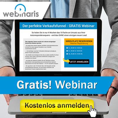 Webinaris - Der perfekte Verkaufsfunnel