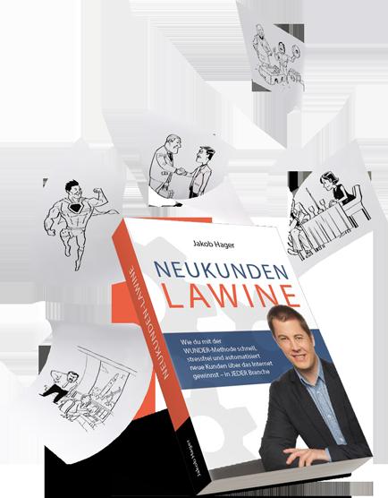 Kostenloses Buch – Neukundenlawine von Jakob Hager – Erfahrungen Review 1