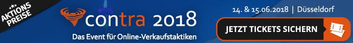Contra 2018 – Die Conversion und Traffic Konferenz banner
