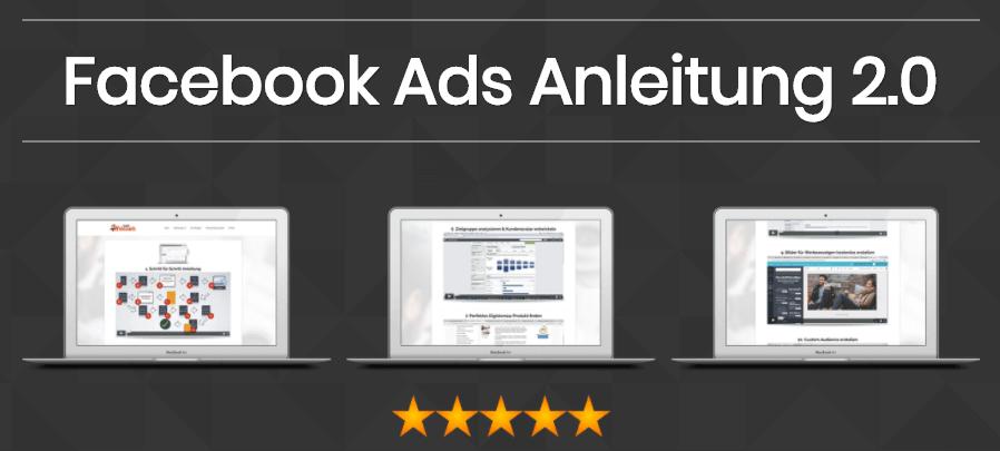 Facebook Ads Anleitung 2.0 von Nico Lampe - Zur profitablen Facebook Werbeanzeige - Review Erfahrungen