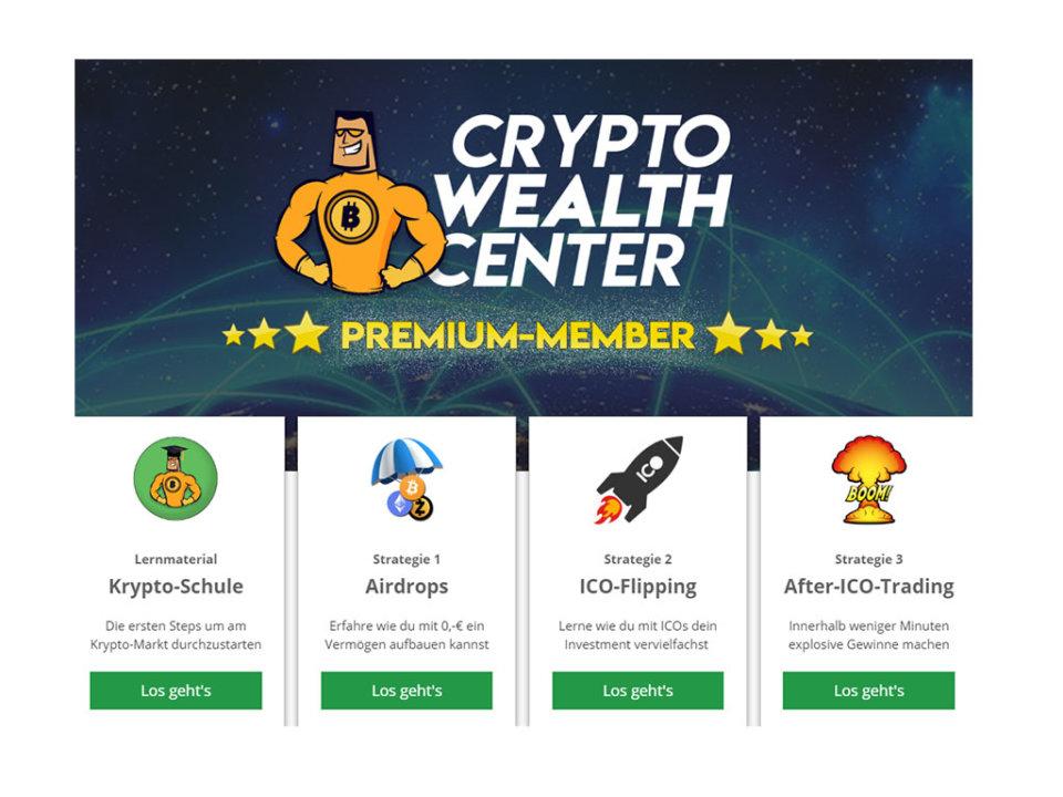 Crypto Wealth Center (CWC) - Sicher in Kryptowährung investieren & mit Kryptowährung Geld verdienen