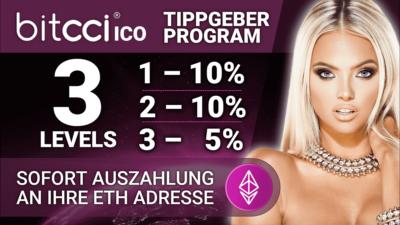 bitcci mit Kryptowährung Geld verdienen